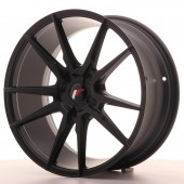 "Japan Racing JR-21 19x8.5"" (5 trous - sur mesure) ET35-40, Noir Mat / Satiné"