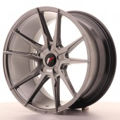 "Japan Racing JR-21 Extreme Concave 19x9.5"" (5 trous - sur mesure) ET20, Hyper Black"