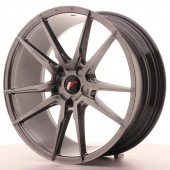 "Japan Racing JR-21 20x8.5"" (5 trous - sur mesure) ET40, Hyper Black"