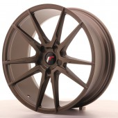"Japan Racing JR-21 20x8.5"" (5 trous - sur mesure) ET40, Bronze"