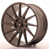 "Japan Racing JR-22 19x8.5"" (5 trous - sur mesure) ET40, Bronze"