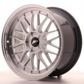 "Japan Racing JR-23 19x9.5"" (5 trous - sur mesure) ET20-45, Gris Argenté / Poli"