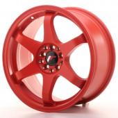 """Japan Racing JR-3 17x8"""" 4x100/114.3 ET35, Rouge"""