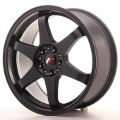 "Japan Racing JR-3 18x8"" 4x100/114.3 ET40, Noir Mat / Satiné"
