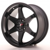"Japan Racing JR-3 18x9"" 4x100/114.3 ET40, Noir Mat / Satiné"