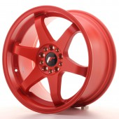 "Japan Racing JR-3 18x9"" 5x112/114.3 ET40, Rouge"