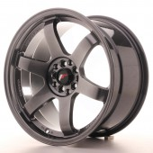 "Japan Racing JR-3 18x9.5"" 5x100/114.3 ET38, Hyper Black"
