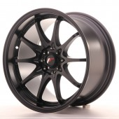 "Japan Racing JR-5 17x9.5"" 5x100/114.3 ET25, Noir Mat / Satiné"