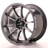 "Japan Racing JR-5 18x10.5"" 5x114.3 ET12, Hyper Black"