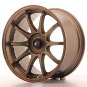 """Japan Racing JR-5 18x9.5"""" (5 trous - sur mesure) ET35-38, Bronze"""