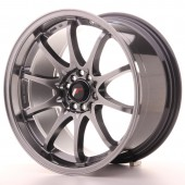 "Japan Racing JR-5 18x9.5"" 5x100/114.3 ET22, Hyper Black"