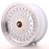 "Japan Racing JR-9 15x7"" 4x100/108 ET20, Blanc"