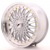 "Japan Racing JR-9 18x8"" 5x112/114.3 ET40, Gris Argenté / Poli"