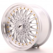 "Japan Racing JR-9 18x9"" 5x112/114.3 ET40, Gris Argenté / Poli"