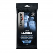 "Lingettes Nettoyantes Cuir Lescot ""Easy Leather"" (pack de 16)"