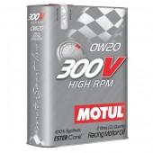 Huile Motul 300V High RPM 0W20