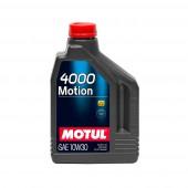 2L Huile Minérale Motul 4000 Motion 10W30