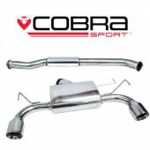 """Ligne d'Echappement """"Catback"""" Cobra pour Nissan 350Z"""