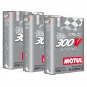 Pack Promo Huile Motul 300V Chrono 10W40 (3 x 2L)