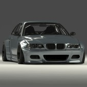 Kit Carrosserie Pandem pour BMW M3 E46
