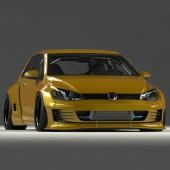 Kit Carrosserie Pandem pour Volkswagen Golf 7