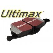 Plaquettes de Frein Arrière EBC Ultimax pour Honda Accord 2.2 (CB8/CG) Aerodeck de 1991 à 1998 (DP781)