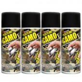 Pack de 4 Bombes de Plasti Dip Camo Vert Kaki, Aérosols 400 ml
