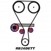Kit de Distribution pour Moteur Nissan RB20DE(T) / RB25DE(T) / RB26DETT
