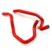 Durites de Radiateur de Chauffage en Silicone pour Subaru Impreza GC / GF (92-00), Rouges