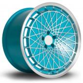 "Rota RM100 18x9.5"" 5x100 ET23, Bleu Turquoise"