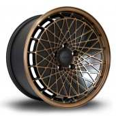"Rota RM100 18x9.5"" 5x100 ET23, Noir / Bronze"