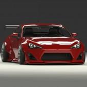 Kit Carrosserie Rocket Bunny V1 pour Toyota GT86