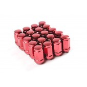 Ecrous M12x1.5 | Standards, Rouges, 17 mm (Pack de 20)