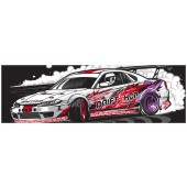 "Sticker DriftShop ""Silvia S15"""