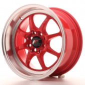 "Japan Racing TF-2 15x7.5"" 4x100/114.3 ET10, Rouge"