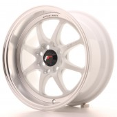 "Japan Racing TF-2 15x7.5"" 4x100/114.3 ET10, Blanc"