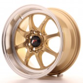 "Japan Racing TF-2 15x7.5"" 4x100/114.3 ET30, Or / Doré"