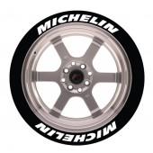 Stickers Michelin, Marquage Pneu Permanent
