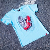 T-Shirt Homme Japan Racing JR-11 - Turquoise