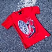 T-Shirt Femme Japan Racing JR-11 - Rouge