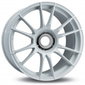 "OZ Ultraleggera HLT CL 19x8.5"" Ecrou Central ET53, Blanc"