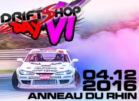 DriftShop Day #6, Anneau du Rhin, 4 décembre 2016