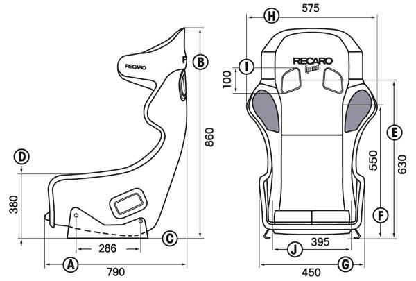 si ge baquet recaro pro racer spg fia en stock. Black Bedroom Furniture Sets. Home Design Ideas