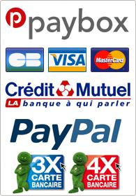 partenaires et cartes acceptées